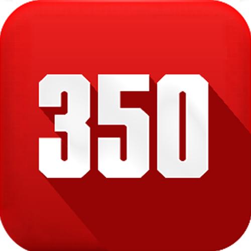 350模板